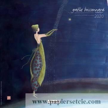 Calendrier 2020 30 x 30 Gaëlle Boissonnard La pluie