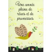 Carte simple Elise Formarier Une Année pleine de...