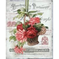 """Carte artisanale Vintage Paris """"Bouchonnerie Parisienne"""""""