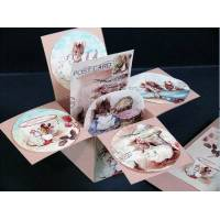 Carte 3 D Pop Up Beatrix Potter Famille Souris