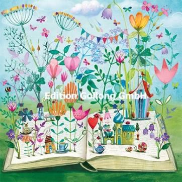 Carte Mila Marquis Le Livre fleuri