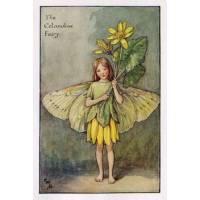 "Carte ""Fées des Fleurs"" Cicely Mary Barker ""Chélidoine"""