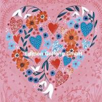 "Carte Cartita Design ""Le Coeur fleuri"""
