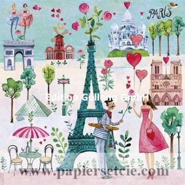 Carte Anniversaire Mila Marquis La Jeune Femme A Paris