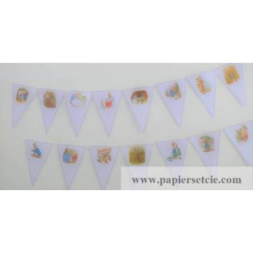 Guirlande en Papier Beatrix Potter à monter soi-même