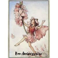 Carte Anniversaire Fées des Fleurs Amandier