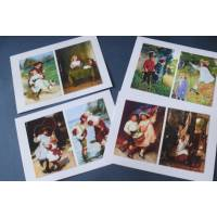 Cartes enfants, Jeux d'enfants 2, paquet de 4 cartes assorties