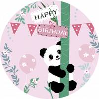 Carte Anniversaire Happy Birthday Le Panda