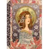 Carnet à mots de passe Gwenaëlle Trolez Art Nouveau