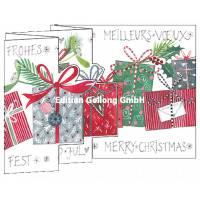 Carte Nouvel An 3 D Les Cadeaux