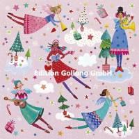Carte Nouvel an Mila Marquis Les Anges et la Musique