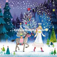 Carte Joyeux Noêl ou Nouvel an Mila Marquis L'Ange et L'Ane