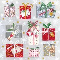 Carte Nouvel an Kerstin Hess Les Paquets cadeaux