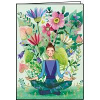 Carnet Mila Marquis Yoga 10,5 x 15 cm