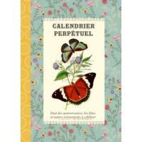 Calendrier d'anniversaires perpétuel Gwenaëlle Trolez Papillons