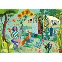 Carte Mila Marquis rectangulaire Vacances au Camping