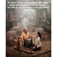 """Citation sur la Vie """"La seule voie qui offre quelque espoir..."""""""