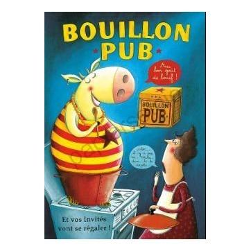 Carte Amandine Piu  Bouillon pub
