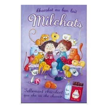 Carte Amandine Piu  Milchats