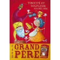 Carte Amandine Piu  Café Grand Père