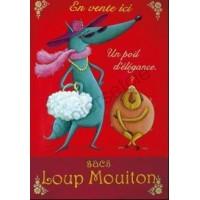 Carte Amandine Piu Loup Mouiton