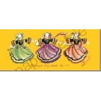 Carte Joelle Josselin Costumes bigoudens