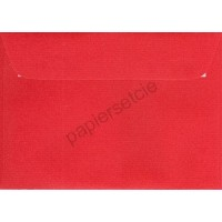 Enveloppe rectangulaire rouge
