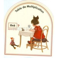 Disque table de multiplication D 15