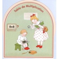 Disque table de multiplication D 21