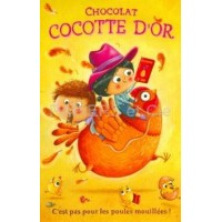Carte Amandine Piu  Chocolat Cocotte d'or