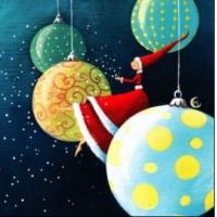 Carte Marie Cardouat La fille du Père Noël