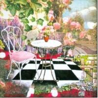 Carte Julie Grugeaux Le Jardin de Rose