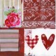 Carte Love et Fleur