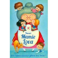 Carte Amandine Piu  Yaourt Mamie Lova