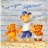 Carte Joelle Wolff Trop mignons...