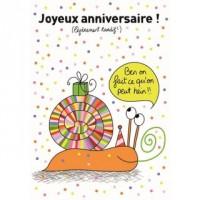 Carte Sophie Dollé Joyeux Anniversaire! (un peu tardif)