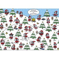 Carte Lali Retrouve tes cadeaux et joyeux Noël!!!