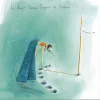 Carte Anne-Sophie Rutsaert Le temps tourne toujours en bonheur!