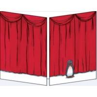 Carte Sophie Turrel Le rideau rouge