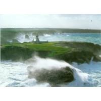 Carte Philippe Plisson Ciel et Mer Avis de coup de vent à la pointe des Poulains