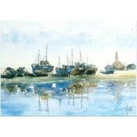 Carte Philippe Vandenberghe Bateaux de Pêche