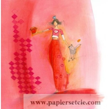 Carte Anne-Sophie Rutsaert Dessine moi une Maman