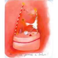 """Carte format """"Ecran"""" Anne-Sophie Rutsaert Pour une année gourmande de bonheurs"""