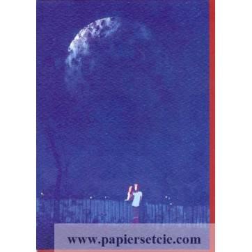 "Carte Pascal Campion  ""Clair de Lune"""