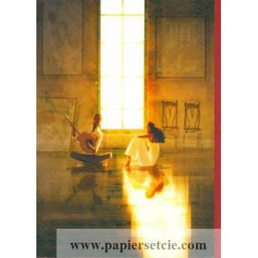 """Carte Pascal Campion """"Musique"""""""