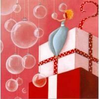 Carte Marie Cardouat Les bulles de Noël