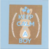 Carte Keep Calm It's a boy