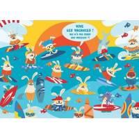 Carte Lali Vive les Vacances! les surfeurs