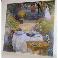 Calendrier 2017 30x30 Monet Jardin