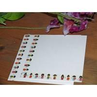 Set de cartes de correspondance Kokeshis